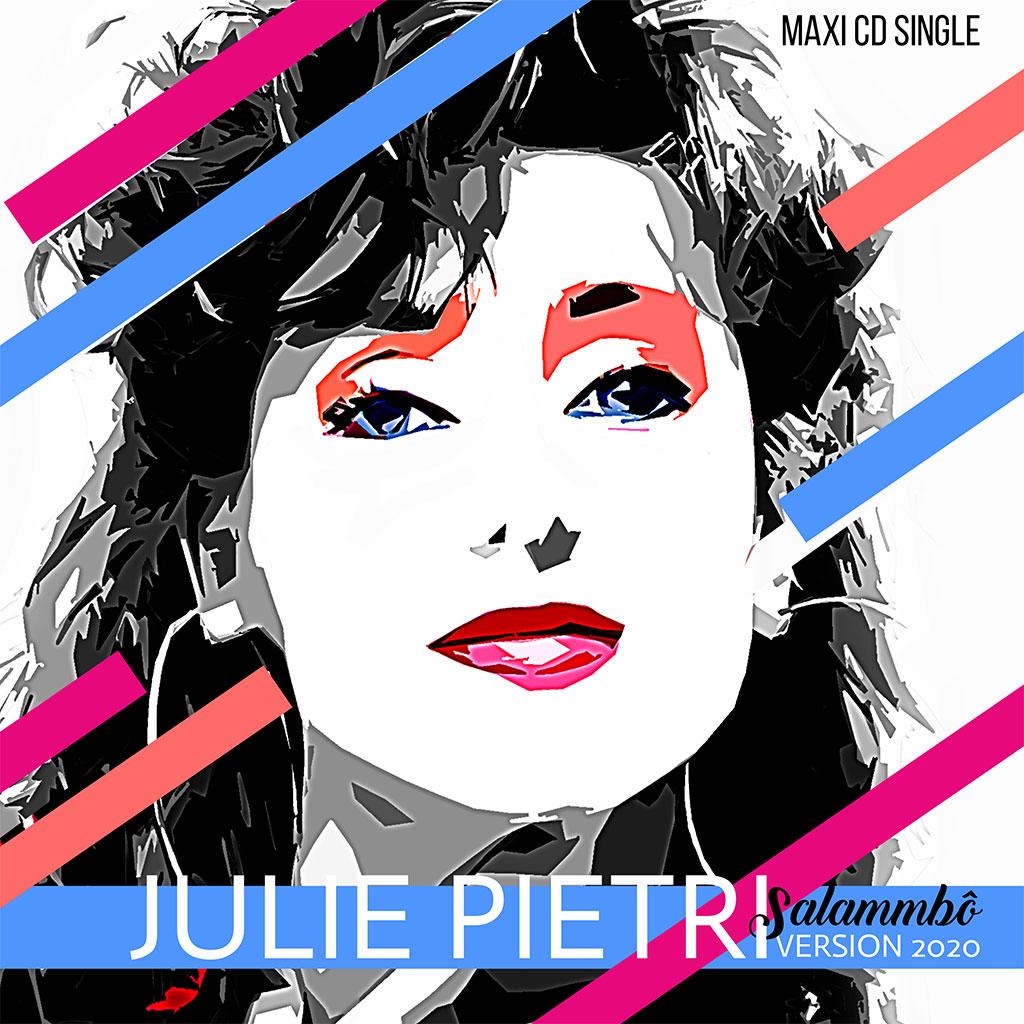 Pochette Julie Pietri - Salammbô 2020